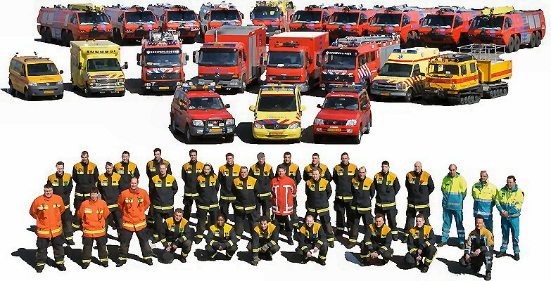 Brandweer Amsterdam Airport Schiphol